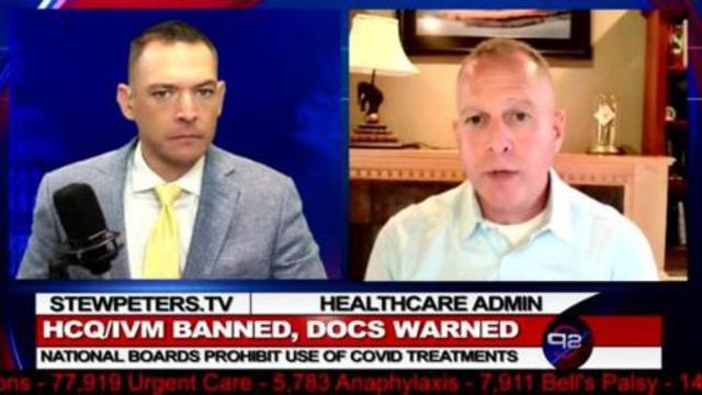 Hospital Administrator Lots of People Will Die – Doctors BANNED from HCQ & IVM 18-9-2021