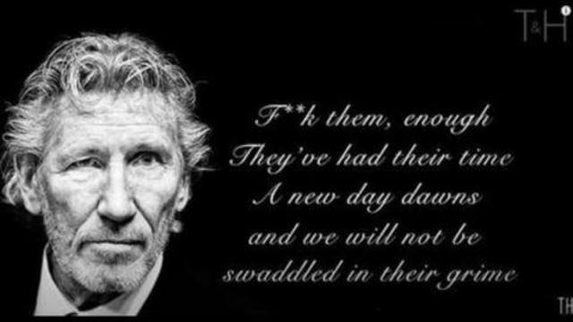 It's Happening Now But People Don't See It – Roger Waters on Challenging Authority – Pigs Live 18-9-2021