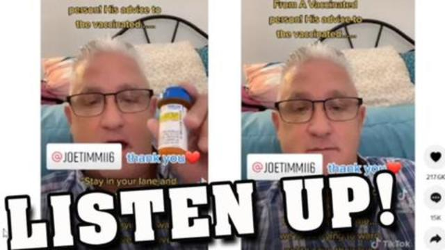 Listen Up! A Respiratory Therapist who Got Both Shots Gives Alarming Advice! 13-9-2021