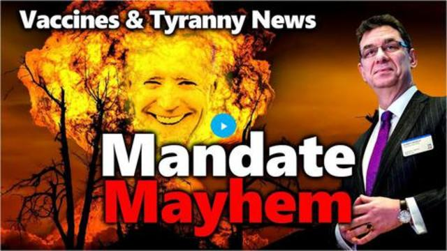 MANDATE MAYHEM: More Insane & Nonsensical Vax Tyranny: Who Do These Vax Forcers Think They Are?! 19-9-2021