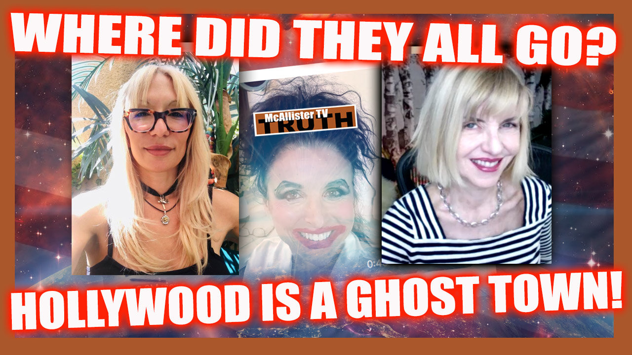 MORE BLACK KNIGHT SATELLITE! GMO HUMANOIDS! HOLLYWOOD IS A GHOST TOWN! 5-9-2021