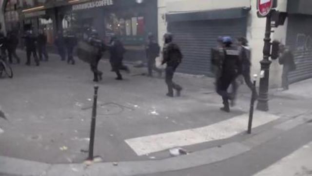 Macron's Gestapo retreats as the people rise up 12-9-2021