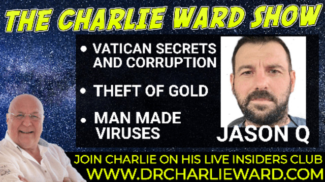 NOTHING CAN STOP WHAT'S COMING… EVERYTHING IS CONNECTED WITH JASON Q & CHARLIE WARD 10-9-2021