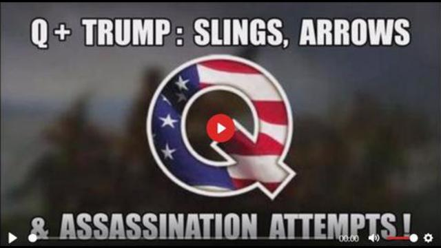 Q+ Trump: Slings, Arrows & Assassination Attempts! The Incredible Sacrifice of Great Presidents, … 22-9-2021