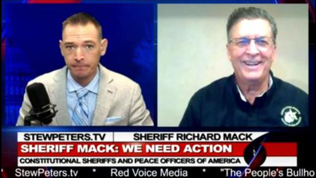 Sheriff Explains How to STOP Federal Vaccine Mandates in America! 17-9-2021