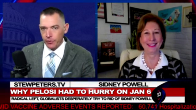 Sidney Powell Live, Pelosi Terrified, Coomer Deposed, Breaking, Powell Suit Filed Today 29-9-2021