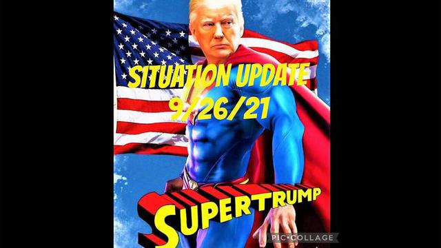 Situation Update: SuperTrump!! MSM Refuse To Cover AZ Audit Results! Call For Decertification & … 26-9-2021