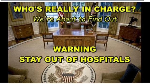 TRUMP APPARENTLY STILL IN CONTROL – 800 U.S. FEMA CAMPS READY FOR OCCUPANTS – STAY OUT OF HOSPITALS 15-9-2021