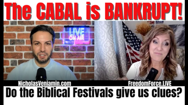 The Cabal is Bankrupt! Biblical Festival Clues 21-9-2021