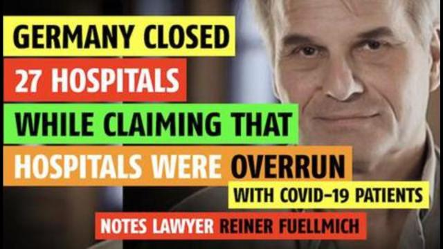 They closed 27 hospitals while claiming hospitals were overwhelmed with Covid patients 10-9-2021