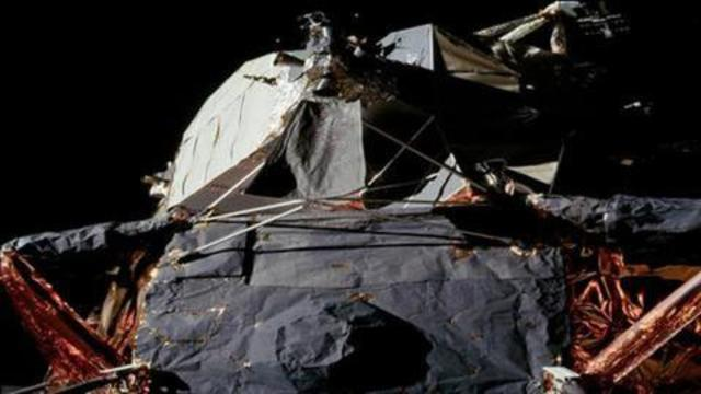 """This """"contraption"""" did not go to the moon. What crap. And people still believe this garbage 12-9-2021"""