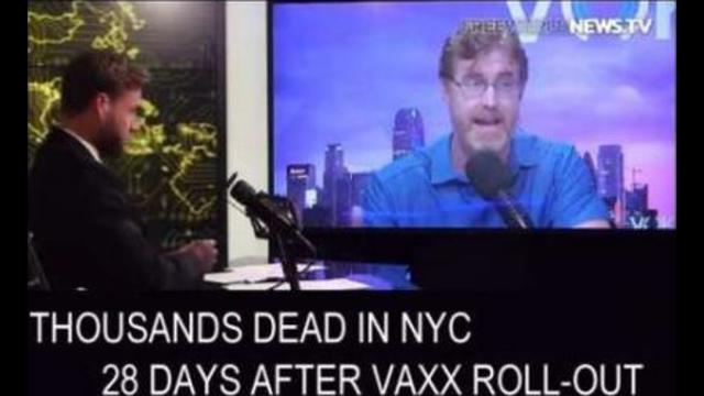 """""""Thousands Dead In NYC"""" within 28 Days of receiving the Jab [X10 to X100] 29-9-2021"""