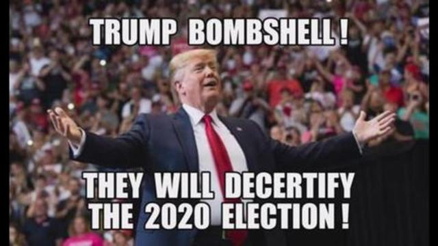 Trump BOMBSHELL! They Will DECERTIFY The 2020 Election! Trump's Epic Return As President! 11-9-2021