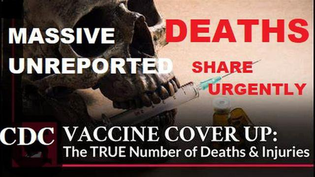 Urgent Massive Unreported CDC Cover-Up of Vaccine Deaths! Save The Children! 6-9-2021