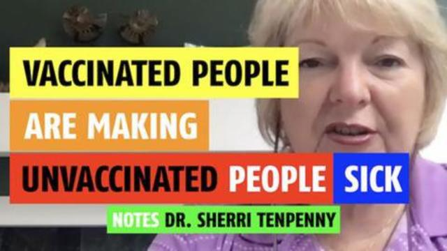 Vaccinated people are making other people sick (In more ways than one) 13-9-2021