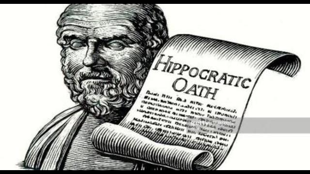 What is in the doctors oath they take? How did they change it? How the clot shot violates their oath 10-9-2021