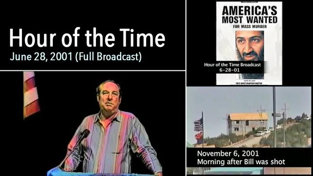 William Cooper – Hour of the Time – June 28, 2001 (Full Broadcast) – Predicts 911 & Osama Bin Laden 10-9-2021
