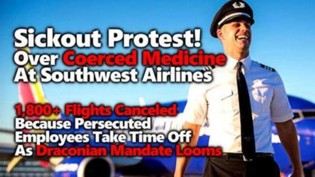 18K Canceled Flights As Southwest Airlines Pilots Employees Use Sick Days Leading Up To Deadline 11-10-2021
