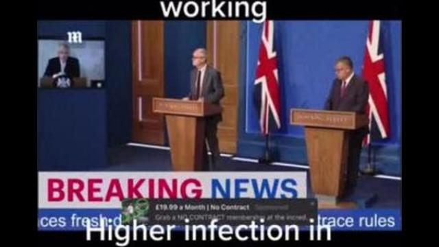 Boris & Co Slip Up Live on TV – A CAPTAIN MUST ALWAYS GO DOWN WITH HIS SINKING SHIP 5-10-2021