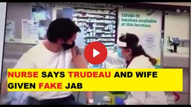 CANADIAN NURSE SAYS TRAITOR JUSTIN TRUDEAU WAS GIVEN A FAKE VAX 21-10-2021