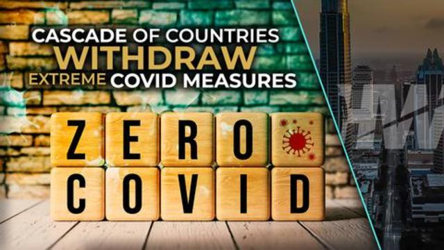 CASCADE OF COUNTRIES WITHDRAW EXTREME COVID MEASURES 18-10-2021