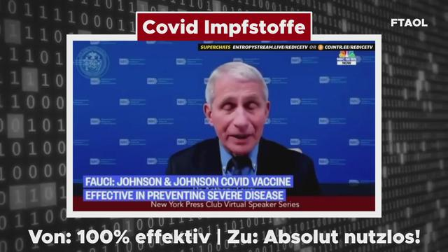 🔴 Covid vaccines – From: 100% effective – To: Absolutely useless! – From Truth And Other Lies 15-10-2021