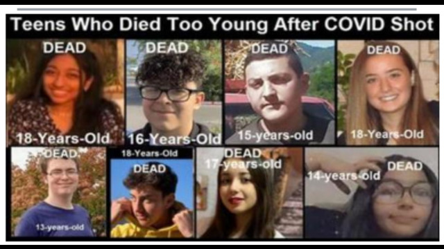 EXPOSED! AS DEATHS TO TEENS INCREASE AFTER COVID19 SHOTS PFIZER ASKS FDA TO INJECT 5 TO 11-YEAR-OLDS 17-10-2021
