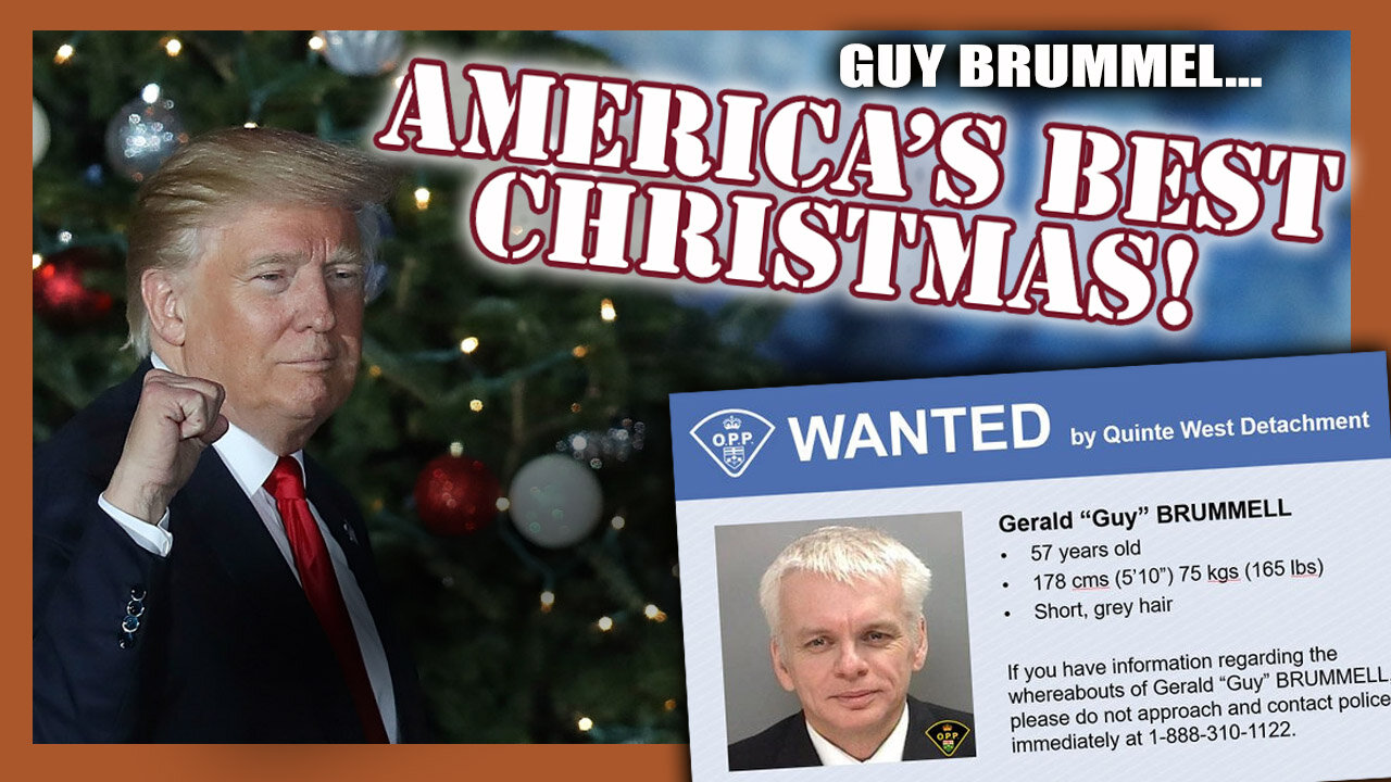 GUY BRUMMEL…AMERICA WILL HAVE A VERY MERRY CHRISTMAS! 18-10-2021