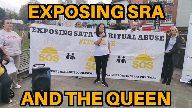 JEANETTE ARCHER EXPOSING THE SATANIC QUEEN AT WINDSOR CASTLE!!! 15-10-2021