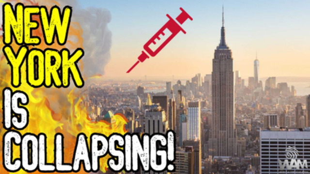 NEW YORK IS COLLAPSING Under Vaccine Mandates! – Will Businesses CONTINUE To Shoot Themselves? 5-10-2021