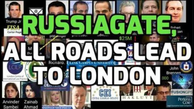 Russiagate – All Roads Lead to London 6-10-2021