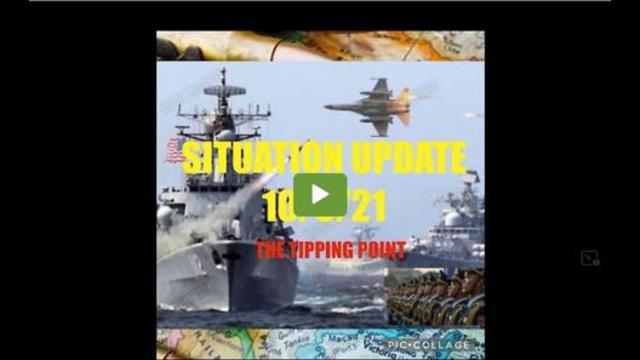 Situation Update: The Tipping Point Is Here!! War & Financial Collapse!! 7-10-2021