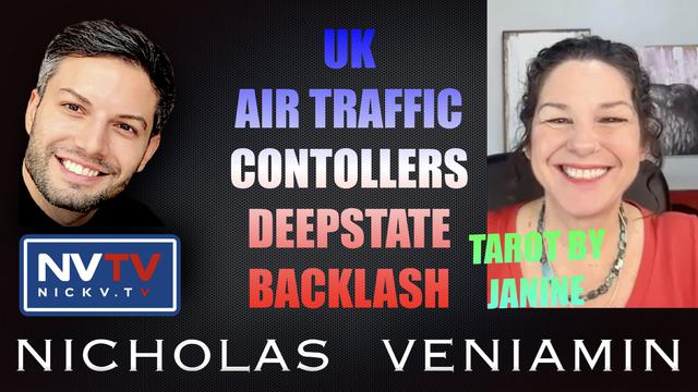 Tarot By Janine Discusses UK, Air Traffic Controllers, Deepstate Backlash with Nicholas Veniamin 11-10-2021