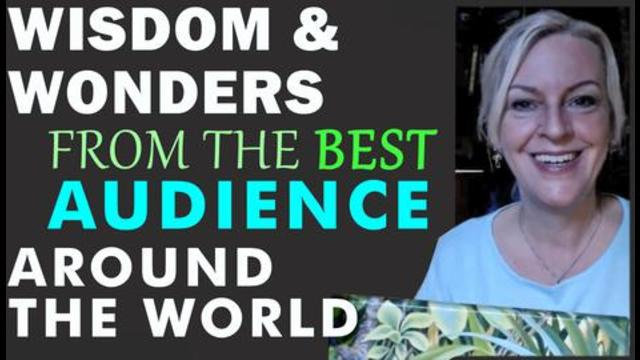 Wisdom and Wonders Letters Gifts Inspiration from The Best Audience around the World 22-10-2021
